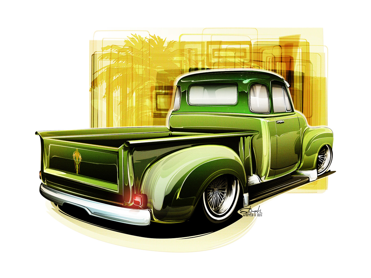 Lowrider Cars Drawing At Free For Personal Use 1949 Chevy Truck 1200x900 Lowriders Hot Rods