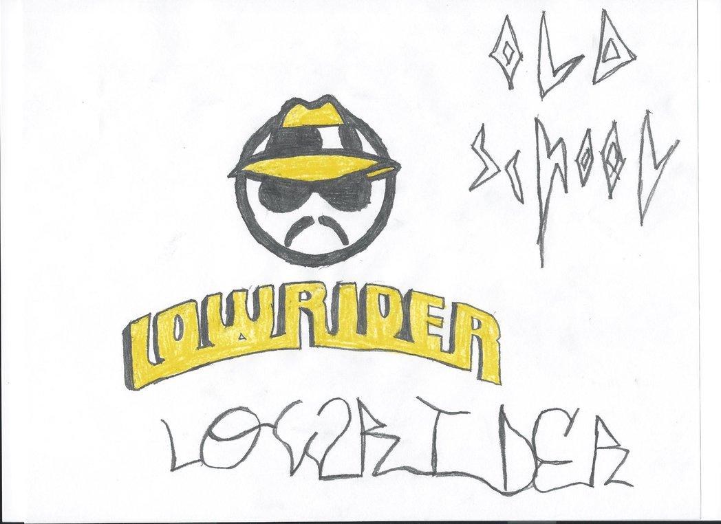 1048x762 Lowrider Logo Draw By Wsmarkhenry
