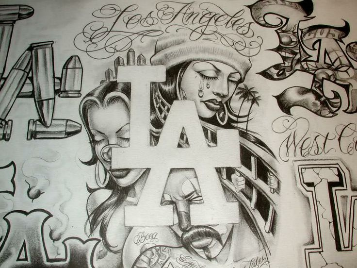 736x552 Pictures Gangster Sketches,