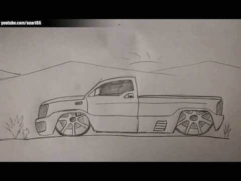 480x360 How To Draw A Truck With Rims