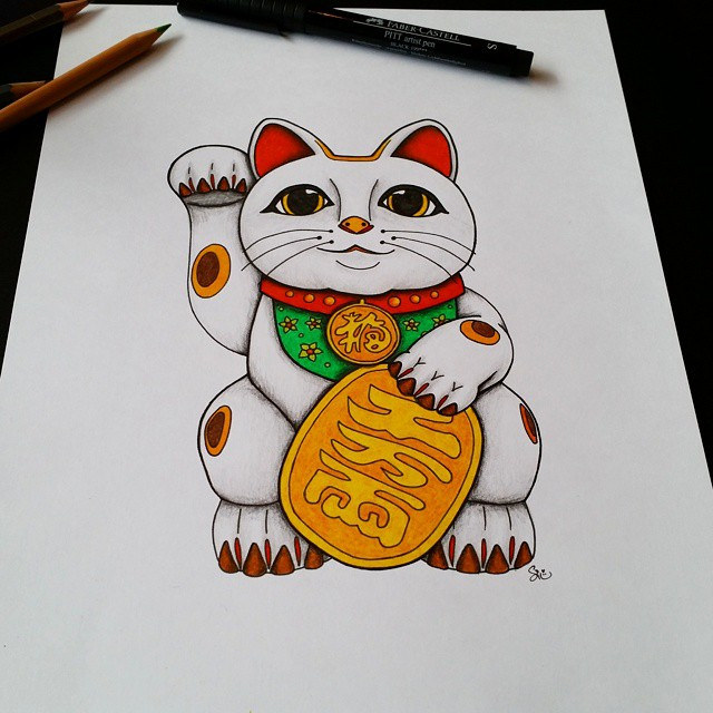 640x640 Everybody Needs A Lucky Cat In Their Life!!