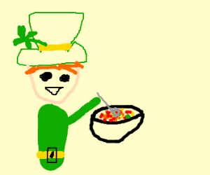 300x250 Lucky Charms Guy Eats Lucky Charms