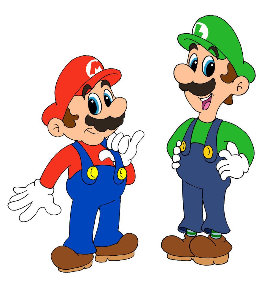 900x952 Mario And Luigi Drawing Mario And Luigi By Benjamintdickens