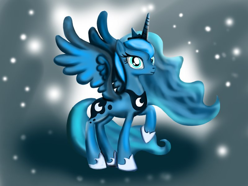 800x600 Learn How To Draw Princess Luna From My Little Pony Friendship Is