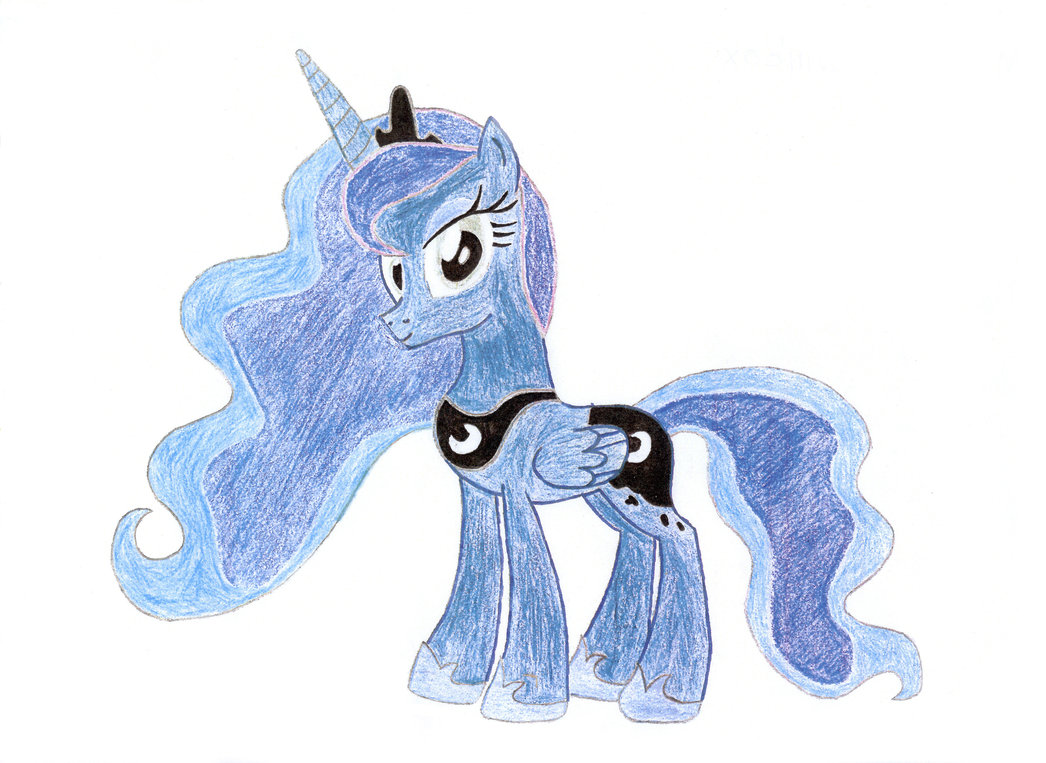 1046x763 Princess Luna Drawing By Theponymuseum