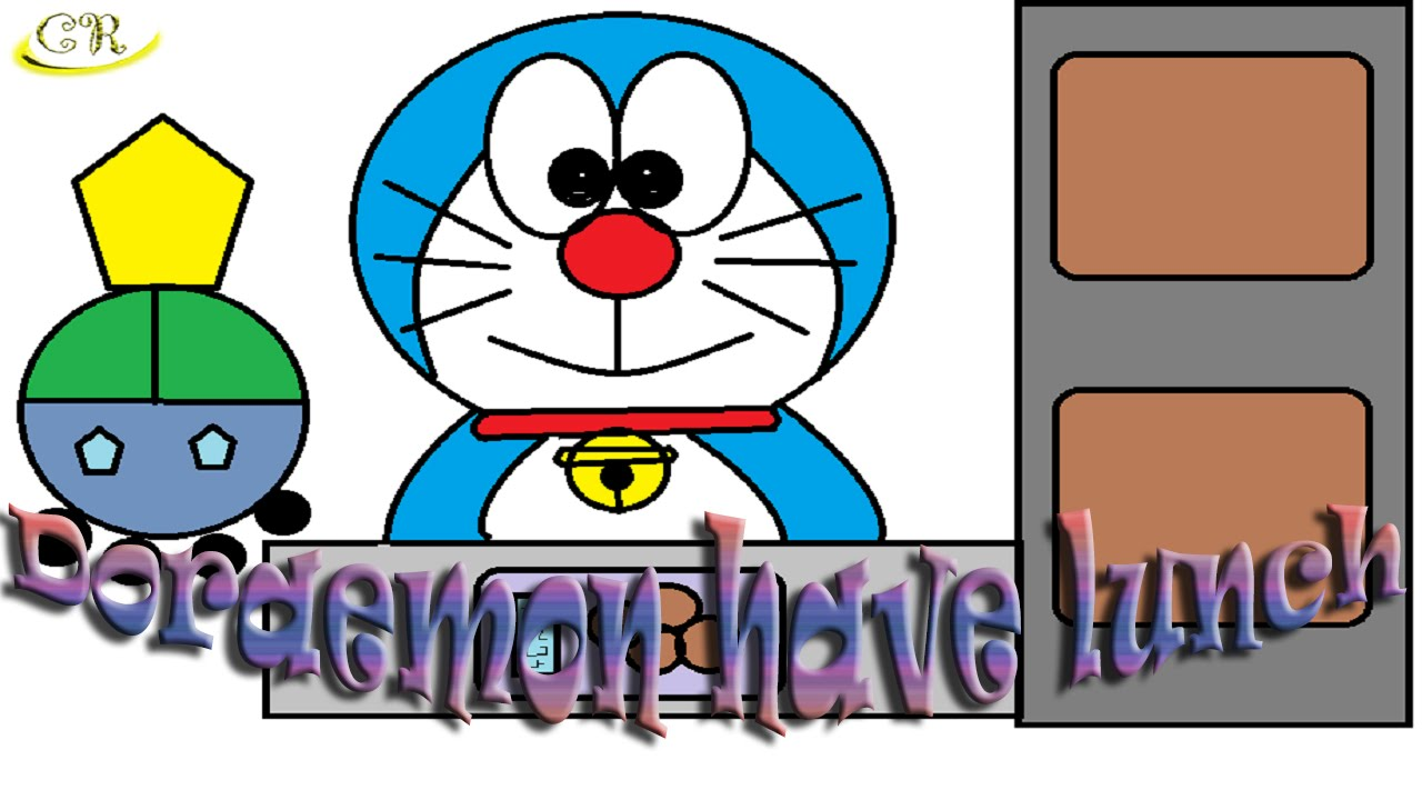 1280x720 How To Draw How To Drawing Doraemon Doraemon Have Lunch