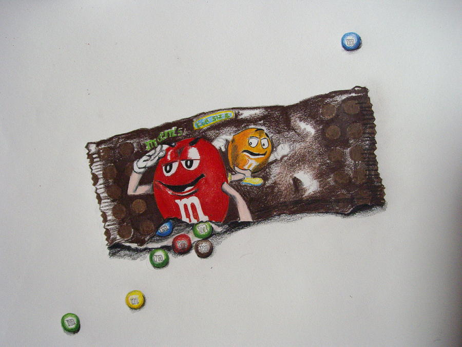 900x675 And M Candy Drawing By Emily Maynard
