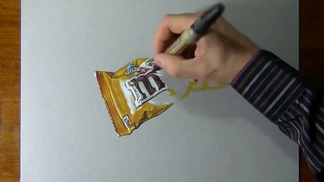 1280x720 Drawing Time Lapse A Bag Of Mampm'S