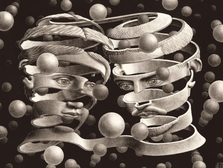 726x546 The Worlds Of M. C. Escher Nature, Science, And Imagination