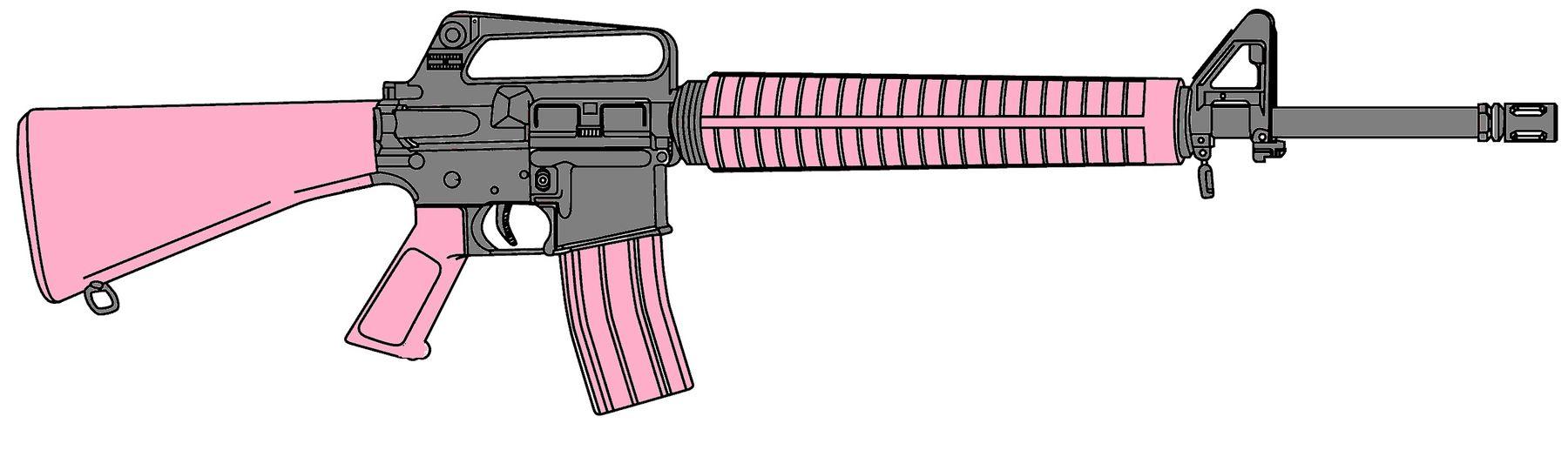 1800x517 Drawn Gun M16