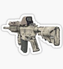 210x230 M16 Drawing Stickers Redbubble