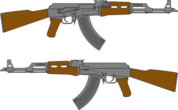 600x371 Vector M16 Rifles Free Vector In Coreldraw Cdr ( Cdr ) Vector