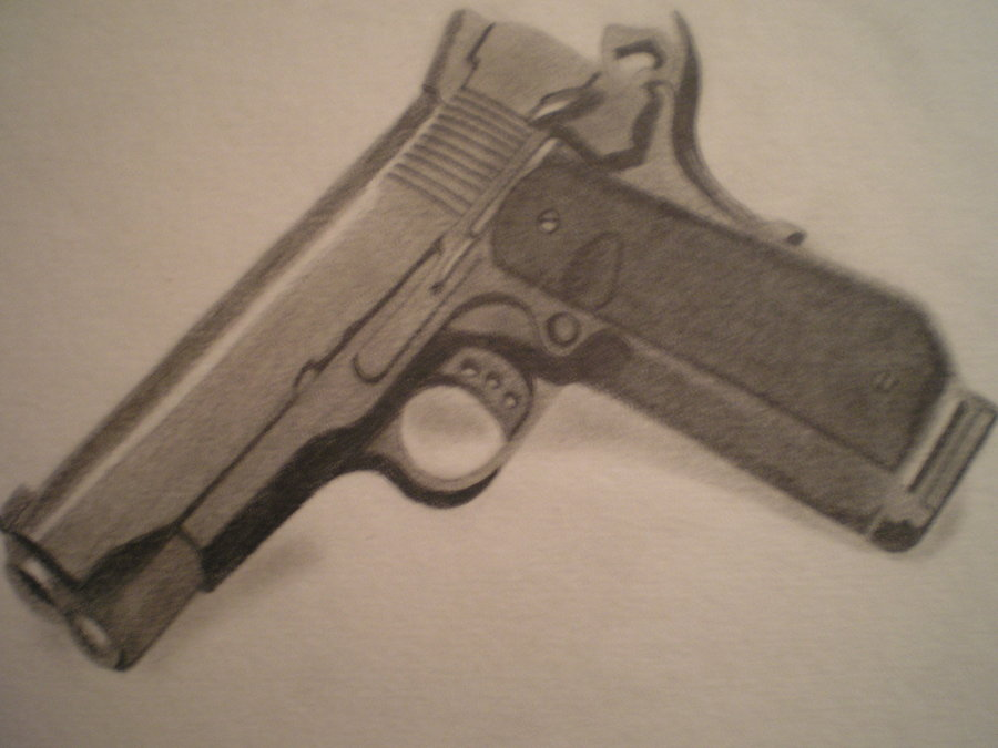 900x675 M1911 Drawing By Pinoyshot95
