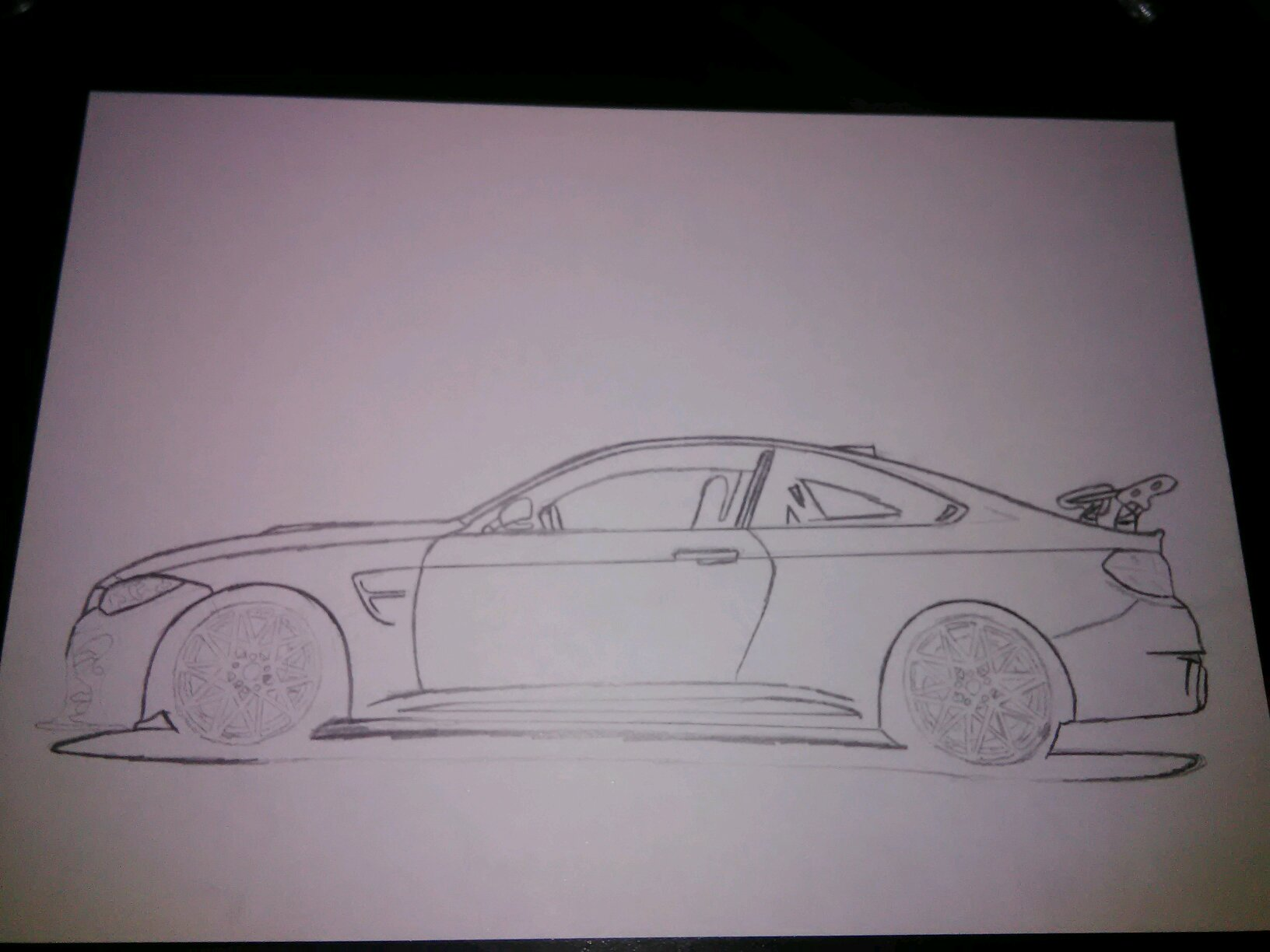 1632x1224 I'M Back With A Bmw M4 Gts Drawing