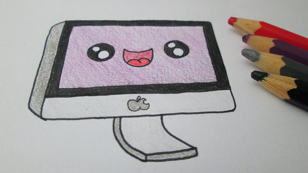 1280x720 How To Draw A Mac Computer Apple
