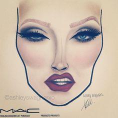 236x236 Pin By Alison Czarnik On Face Charts Macs, Face