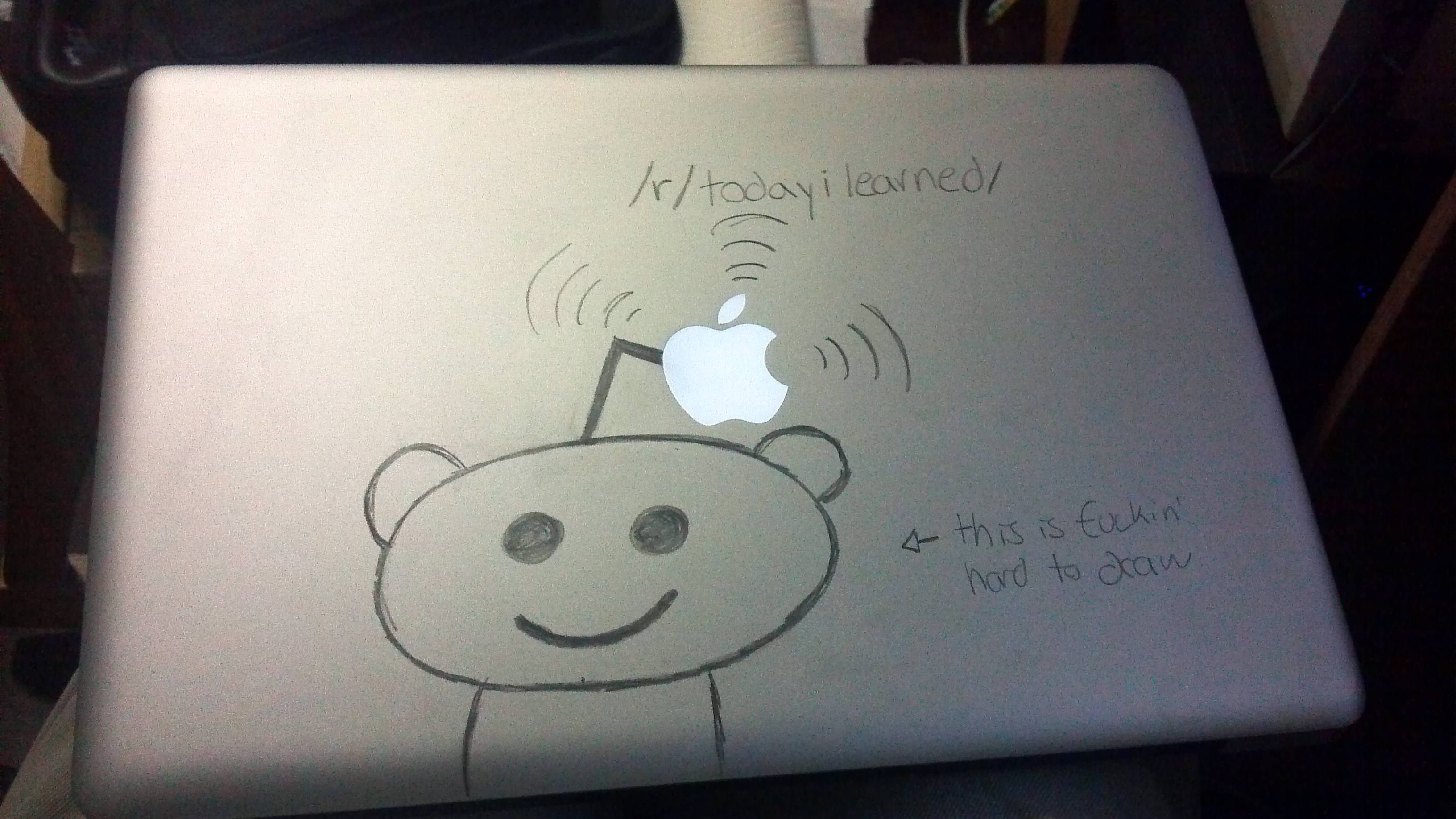3264x1836 You Can Write On Your Aluminum Macbook With A Pencil And Then