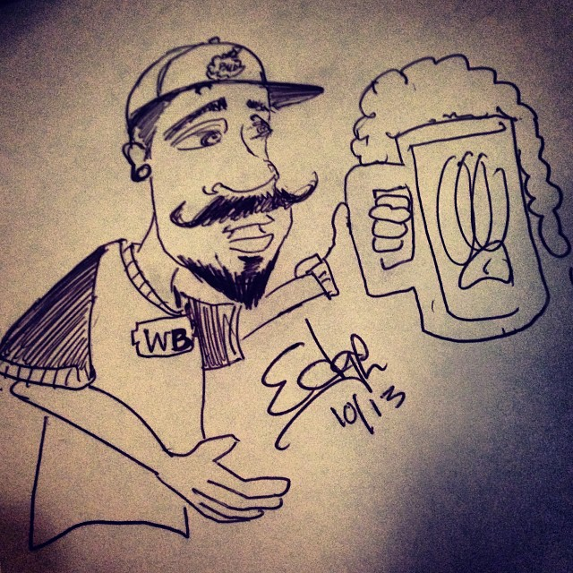 640x640 My Boy @edgeanator With The Mad Drawing Skillz! A Quick Sketch