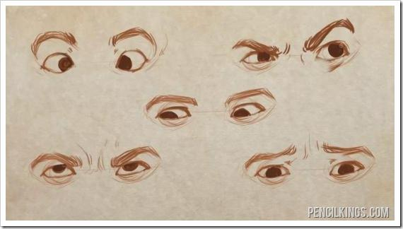 570x324 Drawing Eye Expressions In Easy Steps