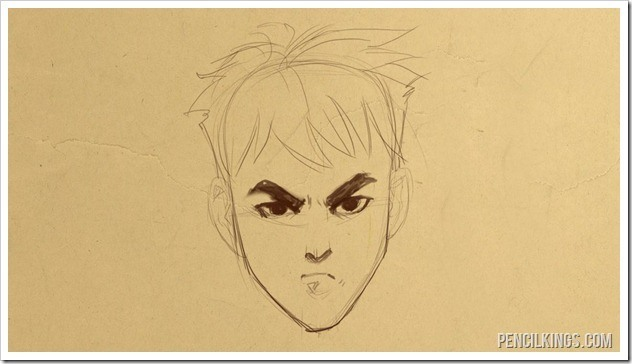 632x364 How To Draw An Angry Face While Smiling