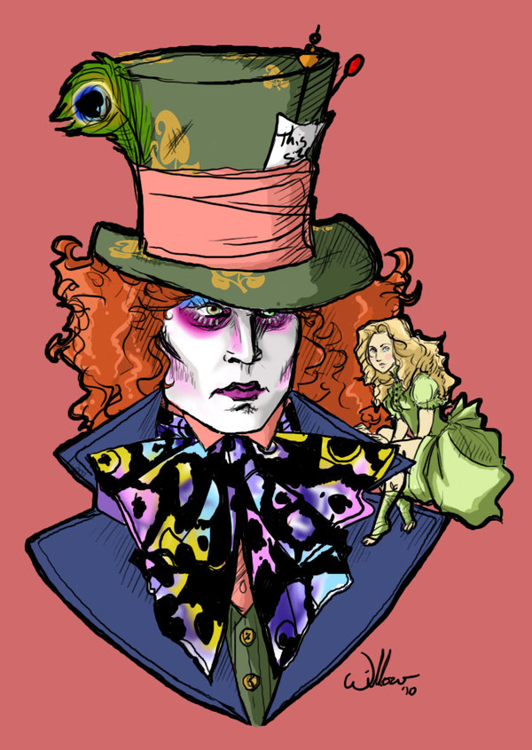 600x845 Alice And The Mad Hatter Favourites By Theraven Lenore