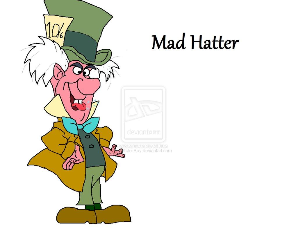 987x810 Mad Hatter Cartoon Mad Hatter By Miqle Boy Wonderland