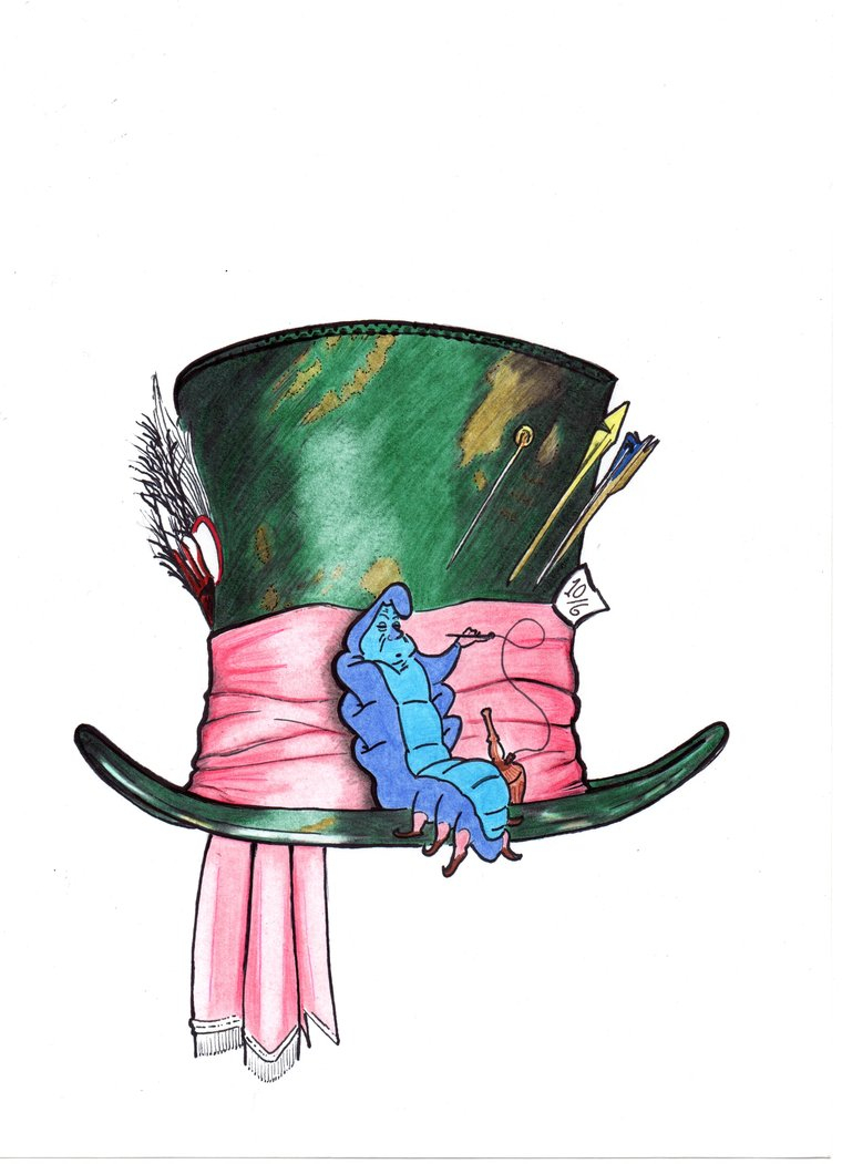 760x1051 Mad Hatter Hat Drawing Mad Hatter's Hat Drawing Drawing Art