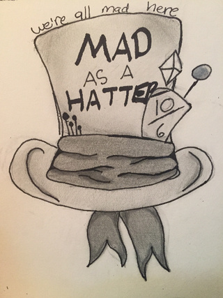320x427 We'Re All Mad Here ~ Mad As A Hatter ~ My Brain Is Scattered You