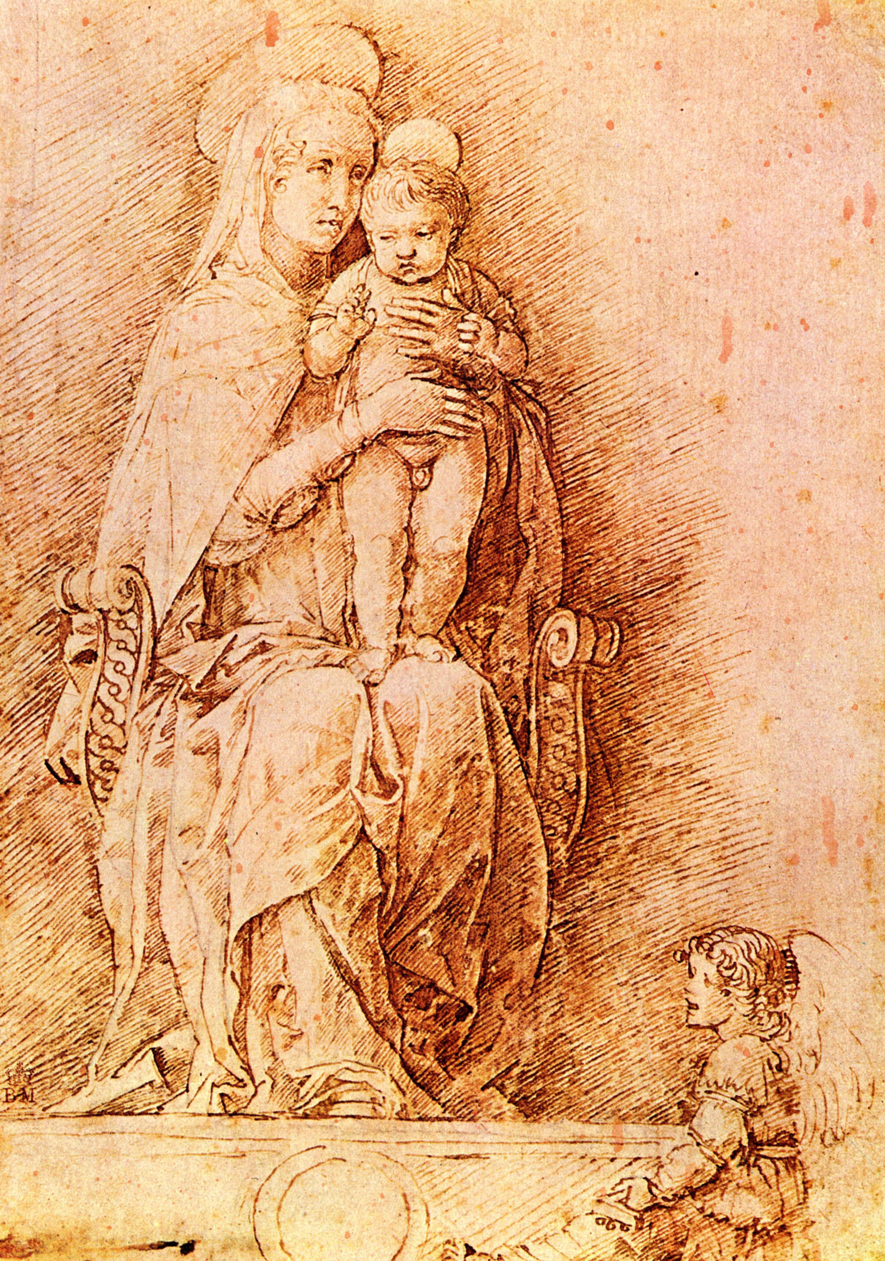 1759x2504 Madonna And Child