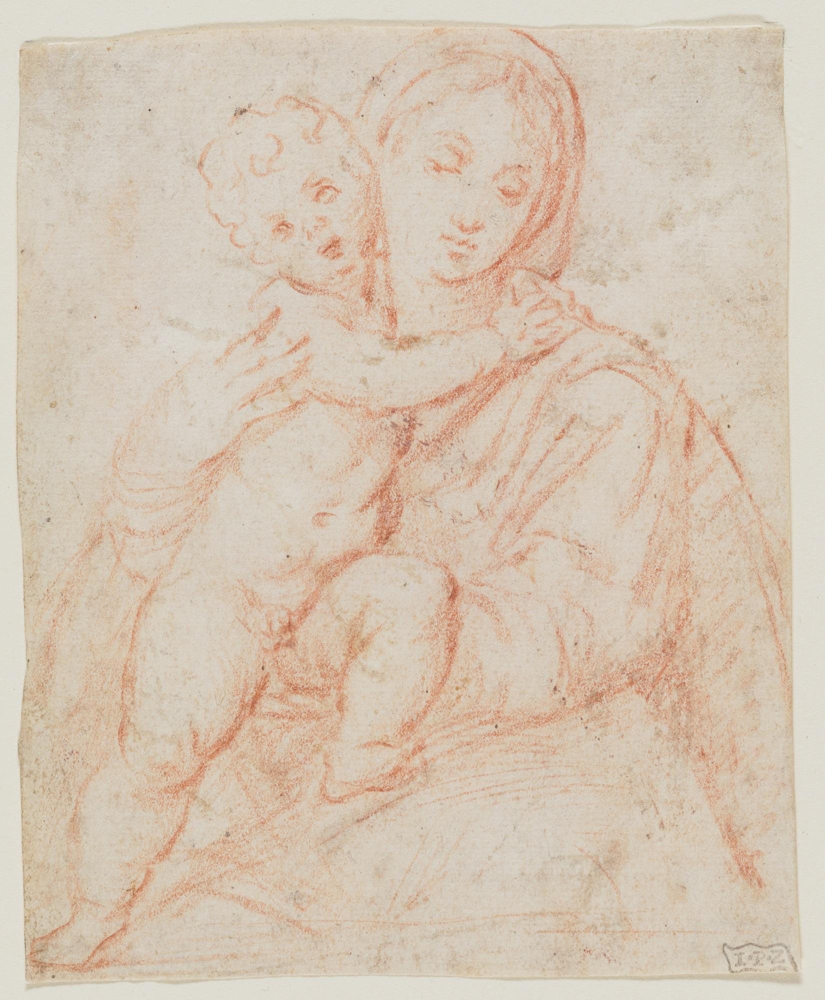 1650x2000 Madonna Child Artist Pomponio Amalteo James Bowdoin Iii