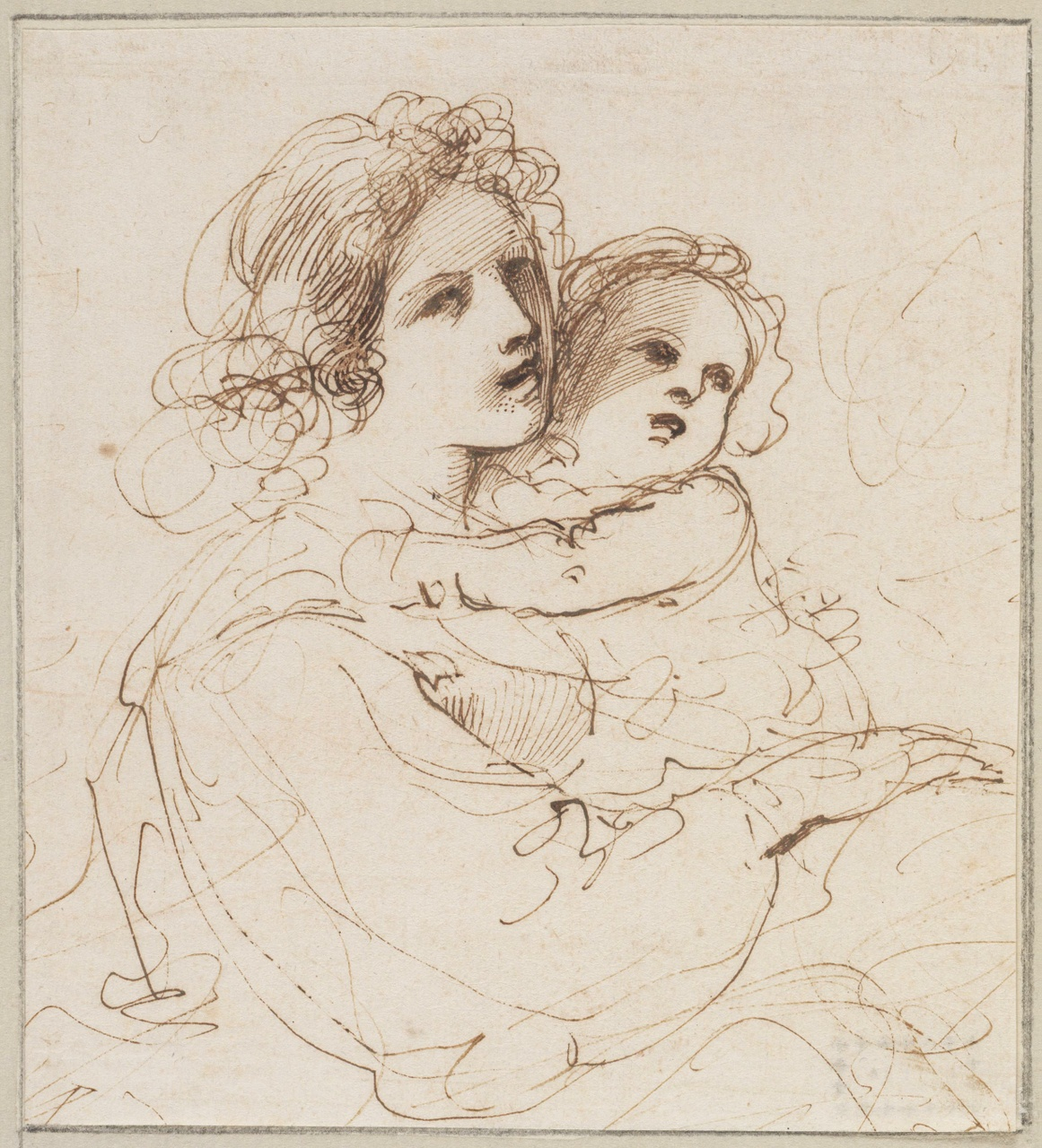 1161x1280 Spencer Alley More Guercino Drawings From Queen Christina's Albums