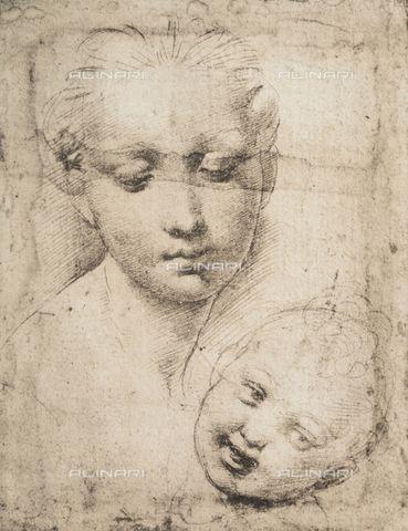 369x480 Raphael Drawings Sanzio 1483 1520 Raphael Madonna And Child