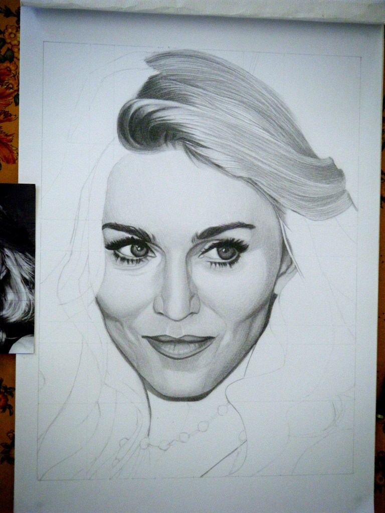 768x1024 Drawing Madonna 7 By Sivine