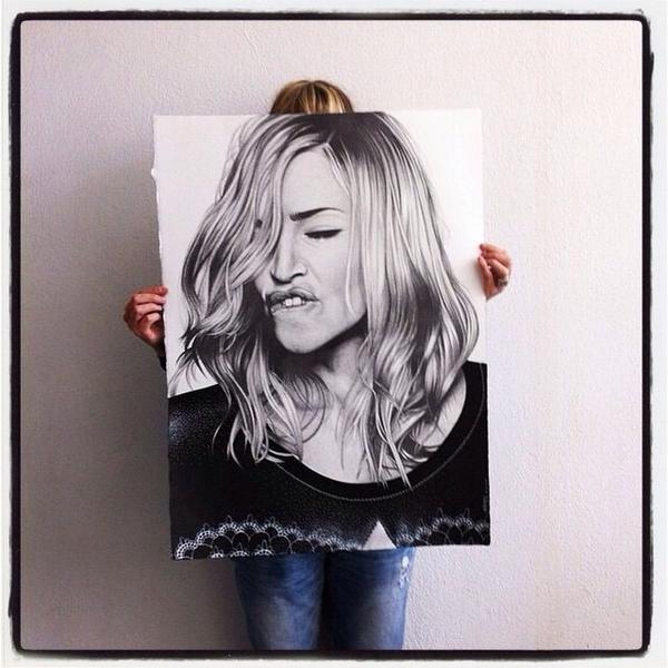 600x600 Madonna Art Vision On Twitter