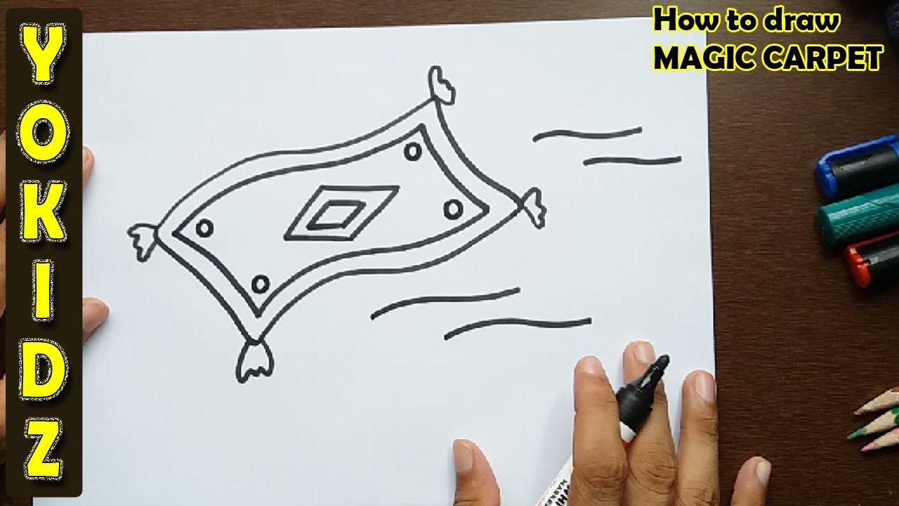 1280x720 How To Draw Magic Carpet