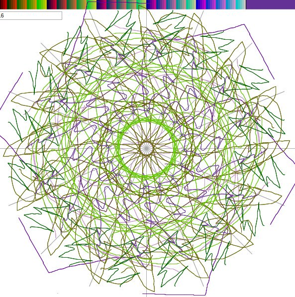 593x597 Js1k On Twitter Magic Circle Drawing Is