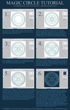 236x367 Magic Circle Tutorial By Zamboze On Arcane Circles