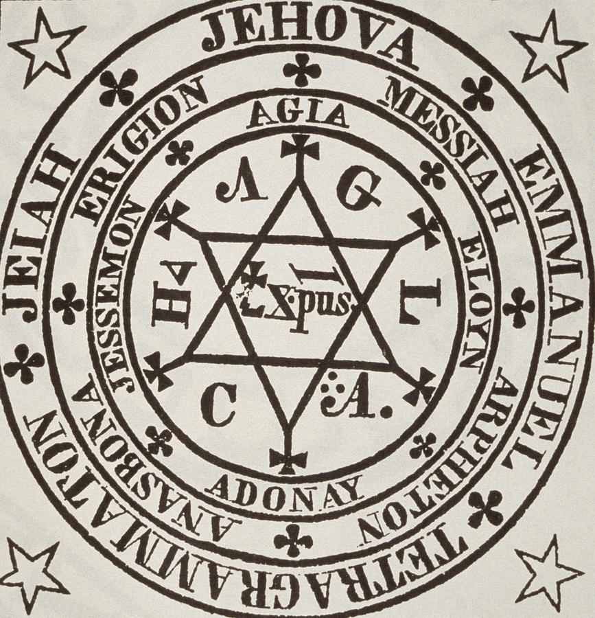 867x900 The Great Magic Circle Of Agrippa For The Evocation Of Demons