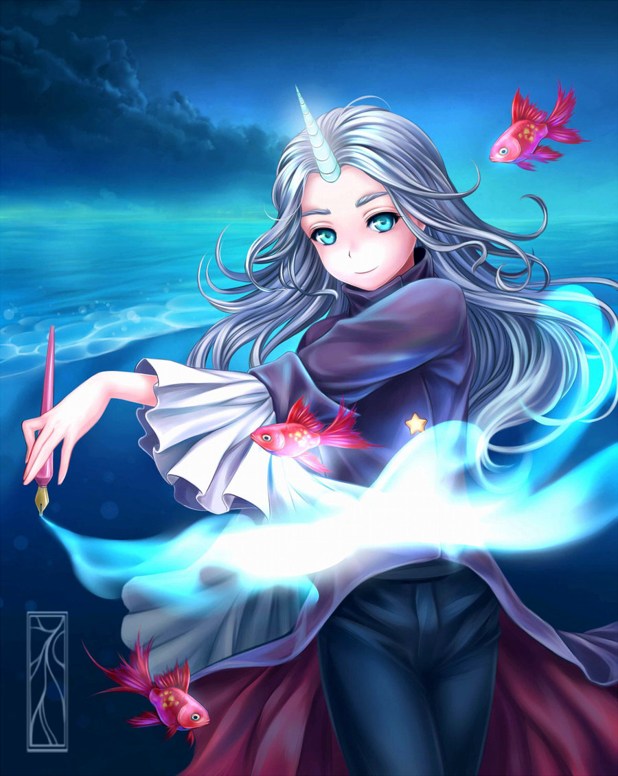 900x1131 Drawing Is Magic! By Kotikomori