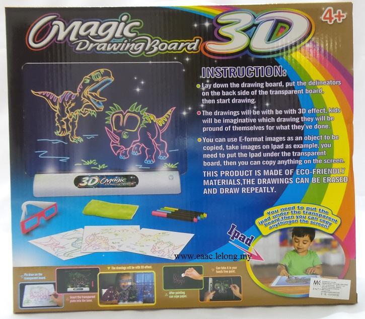 725x634 Magic 3d Drawing Board