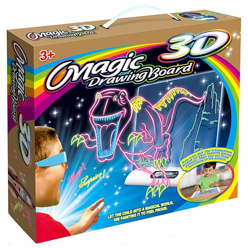 500x500 Magic 3d Drawing Board