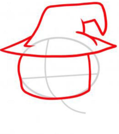 479x541 How To Draw Anime Witch Magic Zombie