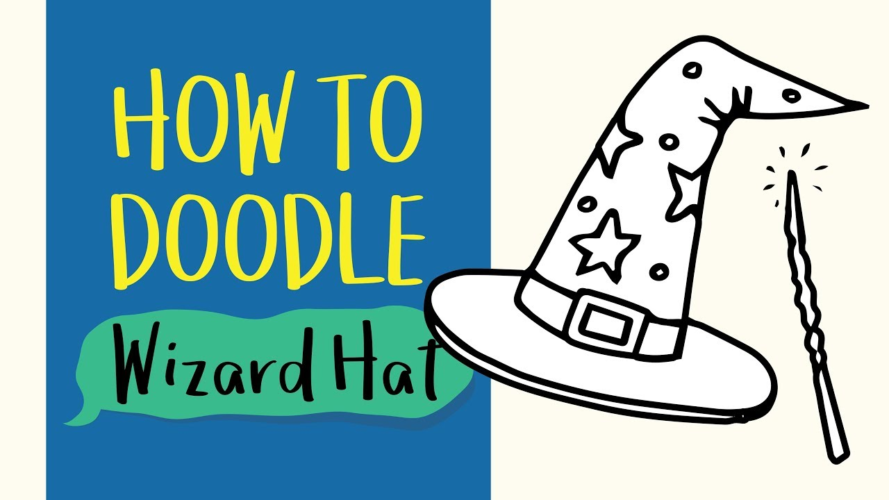 1280x720 How To Draw A Wizard Magic Hat (Easy Step By Step Drawing