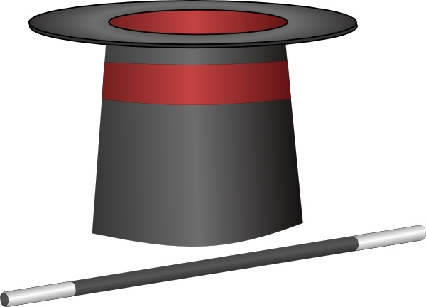 600x432 Magic Top Hat Jh Clip Art Free Vector In Open Office Drawing Svg