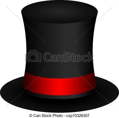 450x447 Vector Illustration Of Magic Hat Vector Clipart