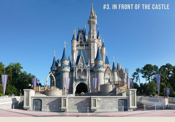 614x429 Cinderella's Castle Unique Photo Spots Capturing Magic