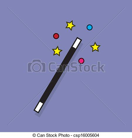 450x470 Magic Wand Sparkle Magic Wand With Sparkle Surrounding Vector