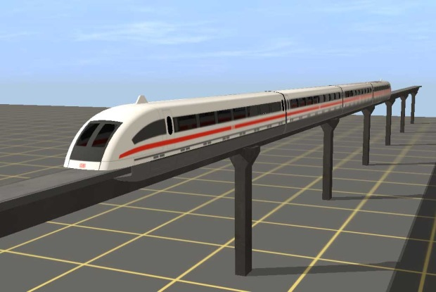 Maglev Train Drawing at GetDrawings com | Free for personal use