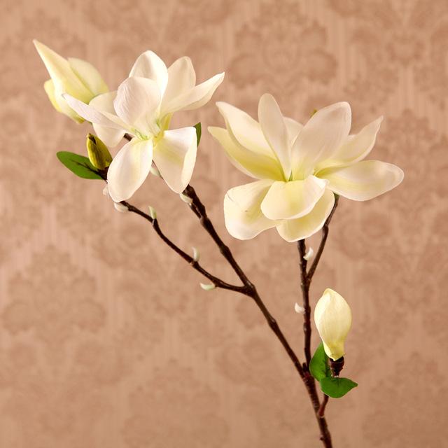 640x640 2016 Limited Sale Christmas Decor 12 Pcs Single Silk Magnolia