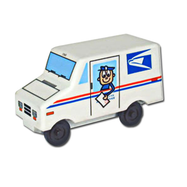 600x600 Mail Truck Drawing